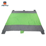 Sale Aotu At6235 Portable Beach Mat Sandproof Blanket With 6 Pocket For Picnic Camping Hiking Traveling Intl Aotu On China