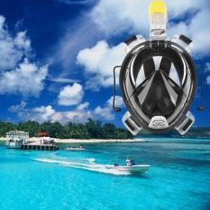Cheapest Ar72 41 Full Face Snorkeling Mask For Gopro Camera S M Black