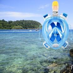 Cheapest Ar72 41 Full Face Snorkeling Mask For Gopro Camera S M Blue Online