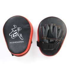 How To Buy Aukey 2X Boxing Mitt Mma Jab Focus Punch Pad Training Glove Karate Black Red