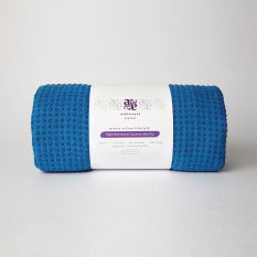 Promo Avagrip High Performance Supreme Grip Yoga Mat Towel Royal Blue