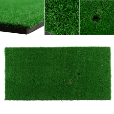 Review Backyard Golf Mat 12X24 Residential Pad Practice Rubber Tee Holder Indoor Intl China