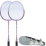 Badminton Racket Double Shot 2 *D*Lt Beginner Couple Racket One Double Patch Ultra Light Badminton Racket Ymqp Intl Lowest Price