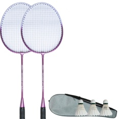 Who Sells Badminton Racket Double Shot 2 *d*lt Beginner Couple Racket One Double Patch Ultra Light Badminton Racket Ymqp Intl Cheap