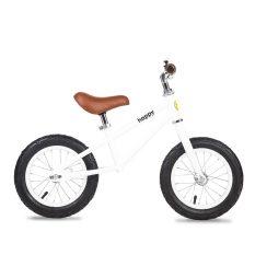 Deals For Bailey Happy Bikes 12 Inch Balance Bike White