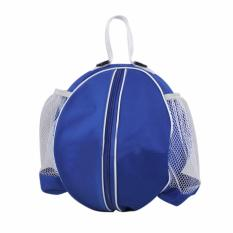 Cheapest Bao Core Professional Strong Basketball Carrying Bag With Side Water Bottle Pouch Sports Gym Equipment Shoulder Messenger Bag Football Valleyball Ball Storage Sack Blue Intl