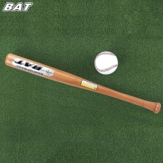 Sale Bat Outdoor Sports Solid Wood Baseball Bat Fitness Equipment Earthy Intl Not Specified Original