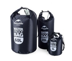 Big Sale Waterproof Dry Bag Pouch Canoe Floating Boating Kayaking Camping Black 5l By Hossen.