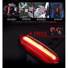 Price Bike And Cycling Light Rear Taillights Red White Led Usb Rechargeable Mountain Bike Bicycle Lights Tail Lamp Waterproof Cycling Equipment Red Intl On China