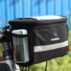 Bike Bicycle Cycling Outdoor Front Basket Pannier Frame Tube Handlebar Bag By Crystalawaking.