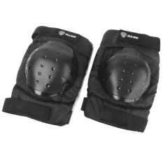 Black Motocross Racing Knee Guard Pad Motorcycle Off-Road Protection Gear By Bolehdeals.