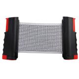 Black Retractable Table Tennis Net Portable Replacement Ping Pong Net Set Deal
