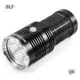 Best Blf Q8 4X Xp L 5000Lm Professional Multiple Operation Procedure Super Braight Led Flashlight Black Intl