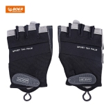 Boer Paired Fitness Sport Gym Exercise Weightlifting Men Half Finger Gloves Size L Black Intl Price