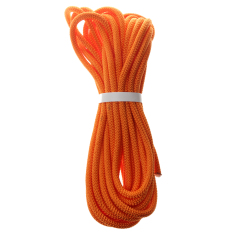 Bolehdeals 8mm Climbing Safety Sling Rappelling Rope Auxiliary Cord Orange 10m - Intl By Bolehdeals.