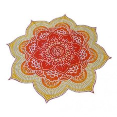 Bolehdeals Bohemian Beach Mandala Round Tapestry Hippie Throw Yoga Mat Lutos Khaki Intl Price