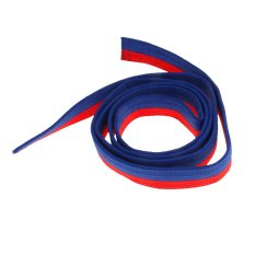 Bolehdeals Cotton Felt Core Martial Arts Colored Tkd Taekwondo Belt 220cm Blue+red - Intl By Bolehdeals.