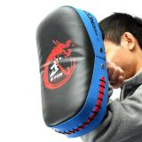 Compare Prices For Boxing Muay Thai Martial Art Combat Karate Kicking Punching Training Pad Blue