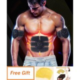 Get Cheap Buy 1 Get 1 Gift 6Pcs Ems Muscle Training Body Fitness Stimulator Slimming Patch Body Shaper Massager Intl