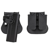 Who Sells Bxo Military Army 1911 Holster Polymer Retention Roto Holster And Double Magazine Holster Fits For 1911 Style Tactical Black Intl The Cheapest