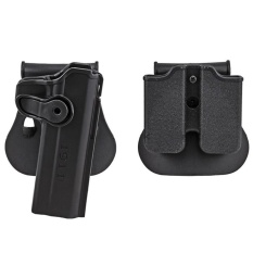 Buy Bxo Military Army 1911 Holster Polymer Retention Roto Holster And Double Magazine Holster Fits For 1911 Style Tactical Black Intl Oem Cheap