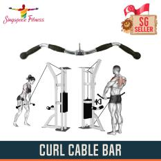 Cheap Cable Curl Bar