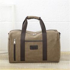 3b2bdf5cd0 Canvas 27L Big Capacity Men Gym Bags Fitness Training Bag Sport Duffels  Travel Bags (Black