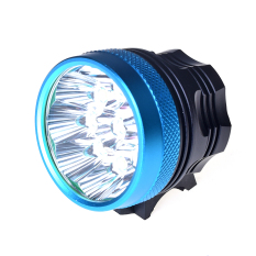 Sale Catwalk 15000Lm 9X Led Xm L2 T6 Cycling Bike Bicycle Light Headlamp Headlight Head Blue
