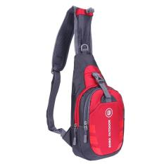 Chest Bag Outdoor Sport Travel Shoulder Sling Backpack Pouch(red) - Intl By Sportschannel.