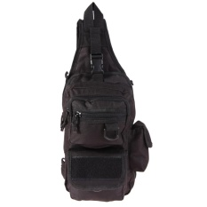 Price Chest Bag With Molle Military Pouch Tactical Shoulder Strap Bag Outdoor Black Intl Oem Original