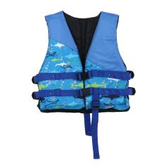 Child Vest Inflatable Swimmer Jackets Life Saving Gilet For Kids (blue) - Intl By Sportschannel.