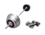 Chrome Barbell With Dumbbell Sets 70Kg Cheap
