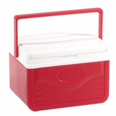 Compare Coleman Fliplid Ice Cooler Box 4 7L Red