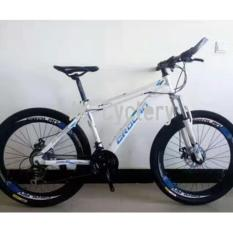 Price Comparisons Of Crolan 789 26 Mountain Bike 24 Speed Disc Brakes Suspension Fork High Profile Rims White Blue
