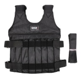 Top 10 Darable Suitable Max Loading 20Kg Weight Vest Boxing Training Exercise Jacket Protection Jacket Intl