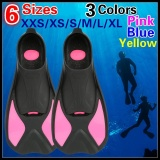 Where To Buy Diving Fins Flipper Snorkeling Shoes Underwater Swimming Diver Snorkeling Feet Shoe Swimmer Water Sport Scuba Dive Diver S Suit Sneaker Foot Swimming Swim Learner Exercise Biginner Practice Silicone Webbed Palm Sneaker Set Intl