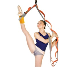 Compare Price Door Durable Cotton Prevent Slippery Flexible Stretch Band Belt For Ballet Dance Yoga Split Training Color Orange On China