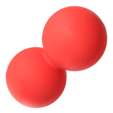 Latest Double Lacrosse Ball Mobility Myofascial Trigger Point Release Massage Exercise Red Intl