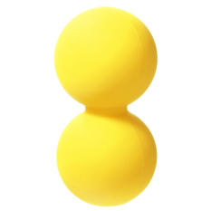 Double Lacrosse Ball Mobility Myofascial Trigger Point Release Massage Exercise Yellow Intl Promo Code