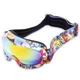 Price Double Uv Protection Anti Fog Skiing Goggles Mask Child Snowboarding Glasses Yellow Plate With Colorful Frame Intl Not Specified Singapore