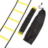 Buy Cheap Durable 12 Rung 18 Feet 6M Agility Ladder For Soccer Speed Training Intl