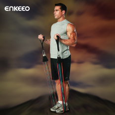 Review Enkeeo Exercise Resistance Band Set China
