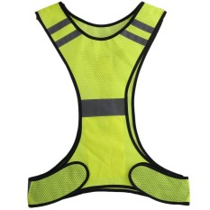 Era Thin Breathable Night Running Cycling Led Safety Security Reflective Vest - Intl By Empire Era.