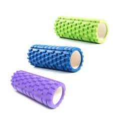 Cheaper Eva Hollow Yoga Column Fitness Relaxation Training Foam Roller Yoga For Exercise Fitness Intl