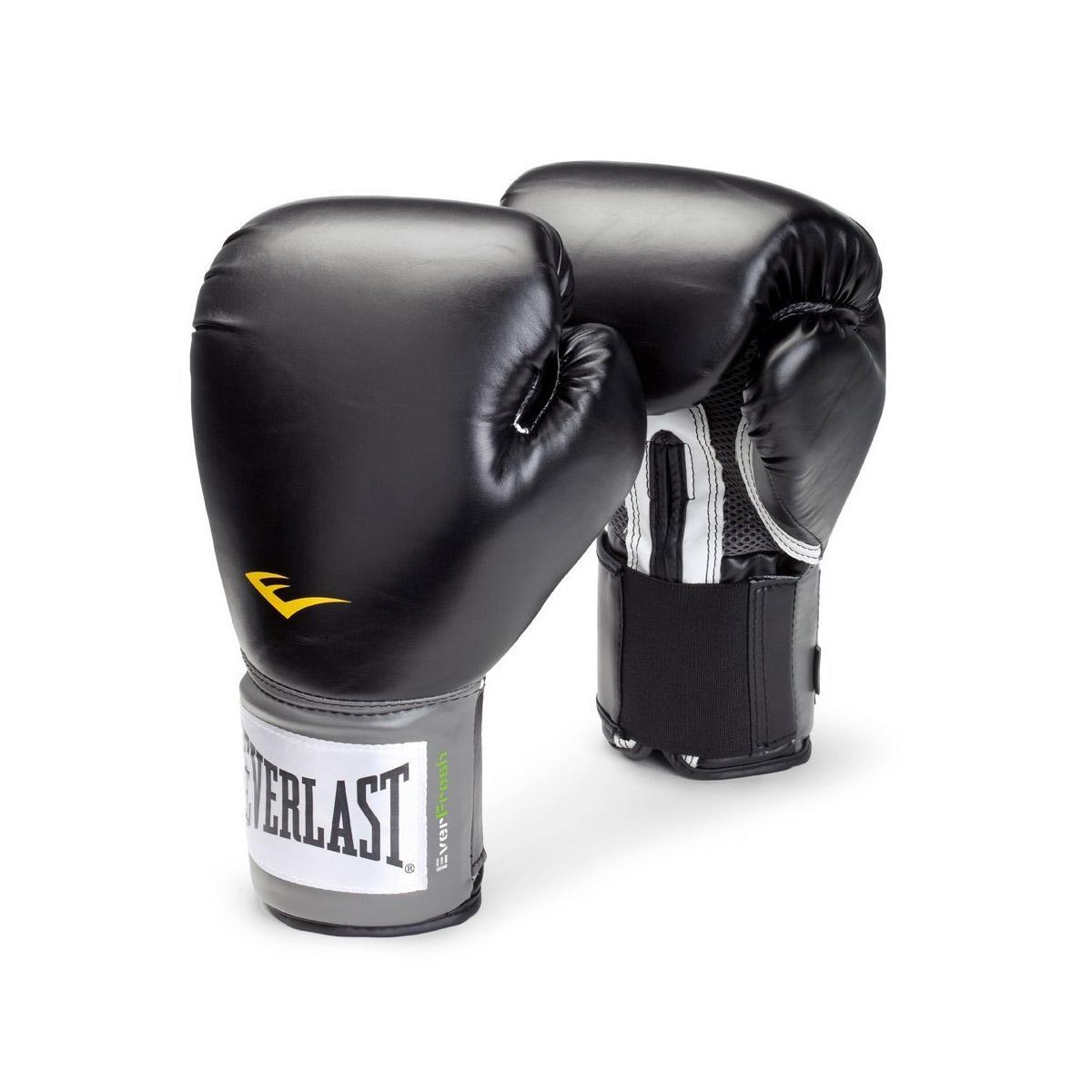 Everlast Pro Style Training Boxing Gloves (black)(everlast Singapore).