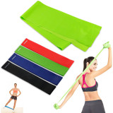 Exercise Resistance Bands 4 Resistance Loop Bands Long Fitness Stretch Band Yoga Straps Home Gym Workout For Legs Arms Pull Up Strength Training Physical Therapy Theraband Pilates W Bag China
