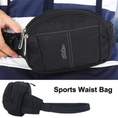 Fashionable Running Waist Belt Bag Pack Pouch For Outdoor Sports Cycling Hiking (black) - Intl By Highfly.