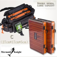 Fishing Lure Box Double Sided Tackle Box Fishing Lure Egi Squid Jig Pesca Accessories Box Minnows Bait Fishing Tackle Container - Intl By Mermaid Knight Outdoor Product Store.