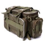 Best Offer Fishing Tackle Bag Pack Waist Shoulder Reel Lure Gear Storage Handbag Pouch New Intl