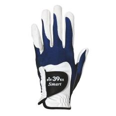 [fit39] Smart Golf Glove (navy/white) Left Wrist - New Production, High Cp-Value Glove, Cheaper But Durable, Maintain The Quality Of Fit39, 100% Japanese Material, Washable & Multi-Functional By Fit39 Asia.